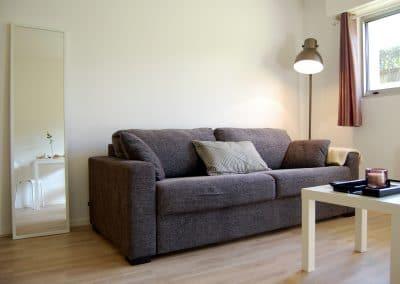 Canapé moelleux et confortable